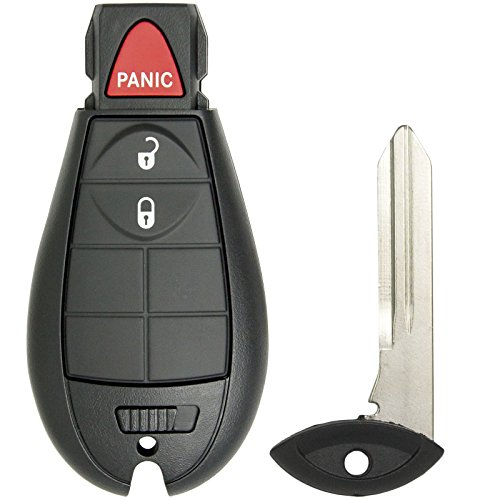 Keyless2Go Keyless Entry Remote Car Key for RAM Vehicles That Use 3 Button Fobik GQ4-53T