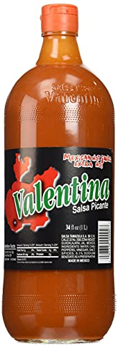 Valentina Salsa Picante Mexican Sauce, Hot, 34 Ounce by ValentinA