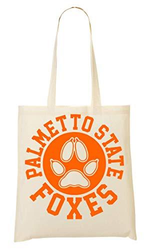 Palmetto State Foxes Circle Crest Orange Tragetasche Einkaufstasche