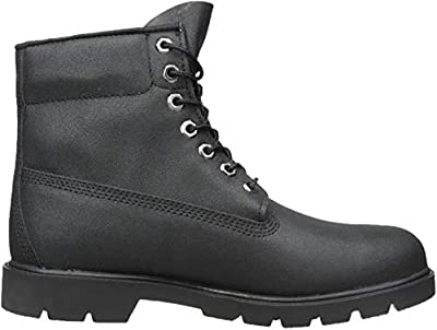 Timberland Men's Six-Inch Basic Boot,Black,9 W US