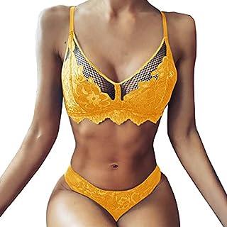 ملابس داخلية للنساء مثير لعدد 2 مجموعة ملابس داخلية متعددة الألوان