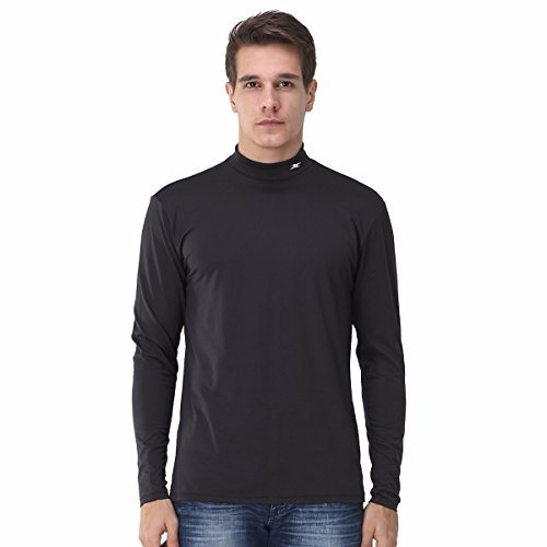 Henri maurice Mock Coltrui Mannen Thermische Compressie Lange Shirts Basislaag Napping NMM