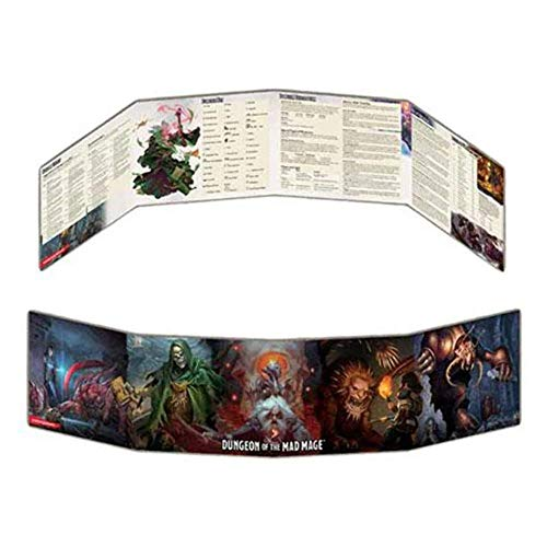 Gale Force Nine 73710 - D&D Waterdeep Dungeon of the Mad Mage - DM Screen