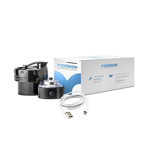 PROMiXX Original Upgrade Pack | High Power USB Rechargeable Battery Motor + Integrated NUTRiPOD Storage | High Gloss Black