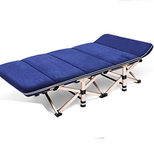 HIGHKAS Lit Pliant Lit Simple Maison Lit Adulte Siesta Chaise Longue Bureau Simple Lit Marching Escort 190 * 75 * 36 Cm
