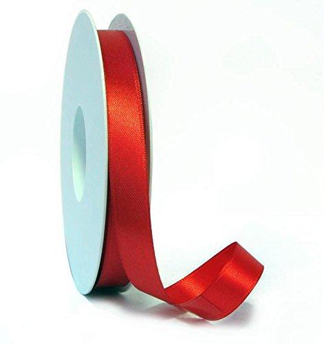 Subito disponibile Nastro in raso Rosso 10 mm x 100 metri
