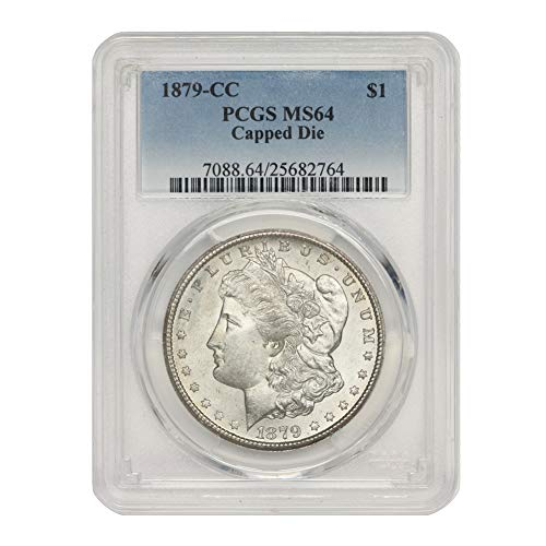 1879 CC Capped Die American Silver Morgan Dollar MS-64 by CoinFolio $1 MS64 PCGS