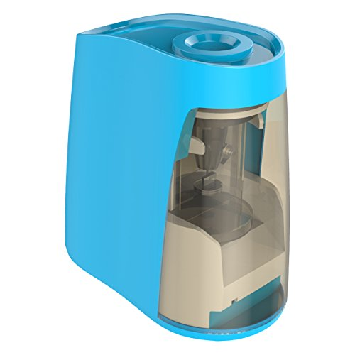 Electric Pencil Sharpener Battery Operated, VersionTech Auto-Stop Small and Durable Kids Friendly Sharpener for Classroom, Office, School, Students, Artists(Batteries not Included)
