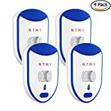 Pest Control Ultrasonic Repeller Indoor Plug-in Repellent for Mosquitoes, Insects, Spiders, Mices, Roaches