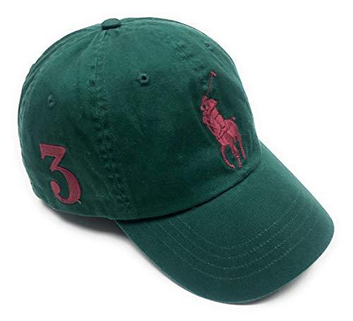 Ralph Lauren Polo Men Big Pony Logo Hat (College Green)