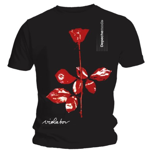 Live Nation Depeche Mode-Violator T-Shirt, Noir (Schwarz), XL Homme