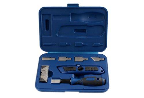 Laser 5013 Coffret de grattoirs et de Cutter pour mécanicien 27 pièces