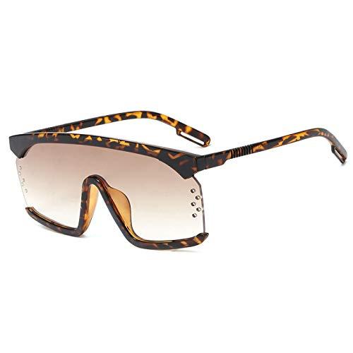 NJJX Gafas De Sol De Plástico De Gran Tamaño Para Mujer Gafas De Sol Cuadradas Con Montura Grande Para Mujer 3
