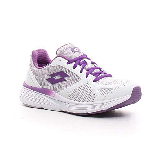 LOTTO Speedride 600 IX W. 215679 White/lile. Zapatillas Deportivas Mujer. Talla 37