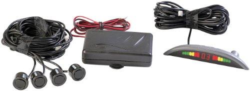 Lescars Einparkhilfe, Rückfahrwarner mit 4 Sensoren (PDC)