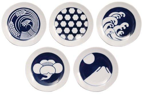 キハラ KOMON『豆皿 5枚セット 季節紋(9792)』