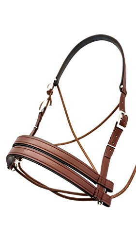 Ultimate Bitless Bridle (Braun, Miniatur