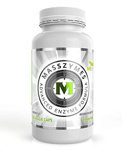 MassZymes - Digestive Enzyme Supplement - with Proteolytic Enzymes (250 Capsules)