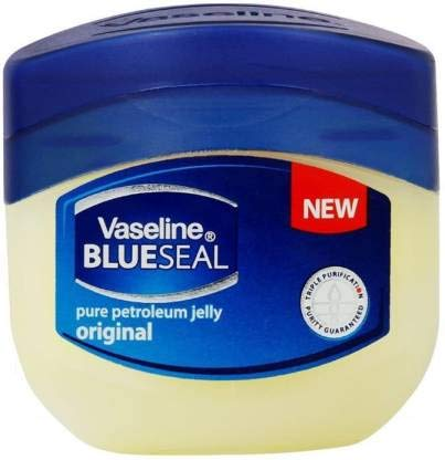 Vaseline Healing Jelly For Dry Skin and Eczema Relief Original 100% Pure Petroleum Jelly 1.75 oz