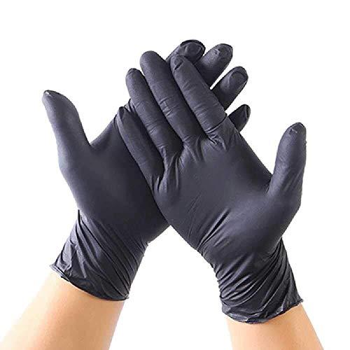 FHYP 20 Stks Wegwerp Latex Handschoenen, voor Huishoudelijke Reiniging Voedsel Gebruik Slijtvaste Lichte Film Noodzaken
