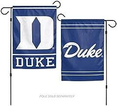 WinCraft NCAA Duke University Blue Devils 12x18 Inch 2-Sided Outdoor Garden Flag Banner