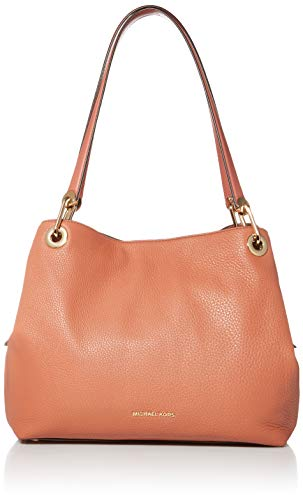 MICHAEL Michael Kors Raven Large Shoulder Tote Sunset Peach One Size