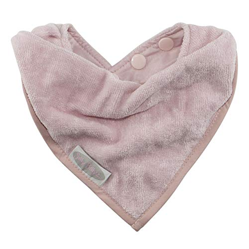 Silly Billyz Towel Bandana Bib, Antique Pink