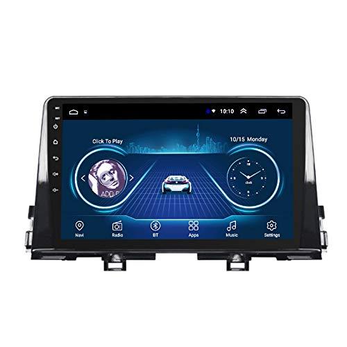 Benature Android Car Stereo Sat Nav para Kia PICANTO 2016-2019 Unidad Principal Sistema De Navegación GPS SWC 4G WiFi BT USB AUX Radio Mapa Dispositivo De Navegador Satelital