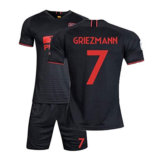 XH Camiseta Antoine Griezmann # 17 Conjunto de Camiseta de fútbol para Hombre Todos los tamaños niños y Adultos (Color : D, Size : Children-22)