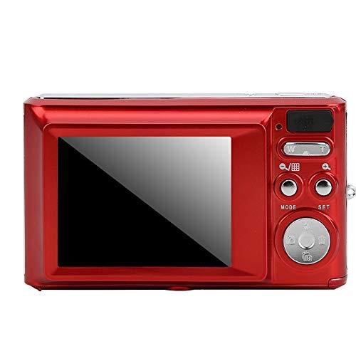 01 Fotocamera Digitale, Mini Fotocamera Multifunzione per Bambini, per Bambini Principianti(Rosso)