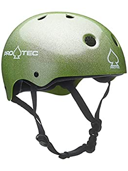 Pro tec Classic Skate Helmet - Green Flake - XL