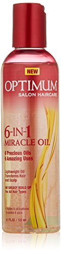 Softsheen Carson Optimum Care Miracle Oil 6-N-1 Miracle Oil, 4.1 oz