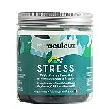 LES MIRACULEUX Stress & Anxiété Gummies Complément Alimentaire Naturel Vegan Gaba/Aubépine/Rhodioloa/Vitamines B6 X42
