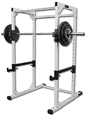 Ader Heavy Duty Power Rack Cage w/300lb Black Set & Free Mat