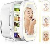 8L Mini belleza maquillaje frigorífico espejo cosmético frigorífico portátil maquillaje maquillaje nevera portátil cosméticos espejo cosméticos herramienta de maquillaje