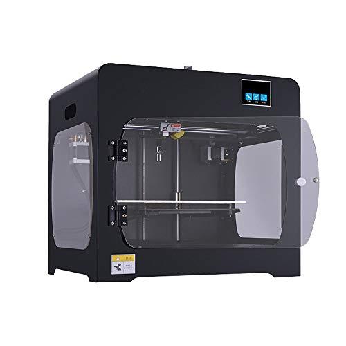 ZHQEUR Stylo d'impression 3D HS-322D01 extrudeuse Simple ou Double imprimante 3D Reprendre Impression Panne de Courant Plus Taille Impressora 3D Drucker 0.4 buse Imprimante 3D