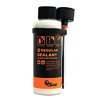 Orange Seal Cycling Tubeless Tire Sealant with Injection System  8 oz
