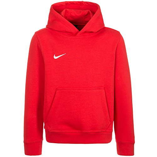 Nike Unisex Kinder Kapuzenpullover Team Club, Rot (University Red/football White), XL