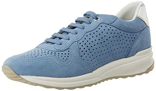Geox D AIRELL B, Zapatillas Mujer, Azul (Lt Blue C4003), 39 EU