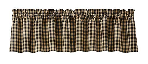 Park Designs Berry Gingham Lined Valance