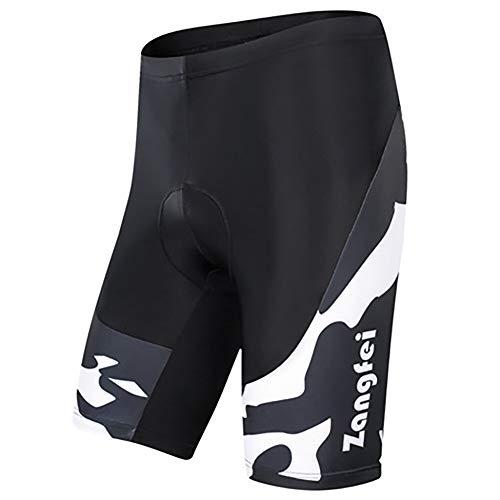 YAGATA - Radsport-Shorts für Damen in Weiß, Größe L
