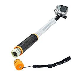 in budget affordable CamKix Waterproof Floating Telescopic Handle – Compatible with Gopro Hero 8 Black, Hero…