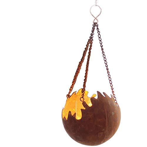 Edelrost Hänger Feuerkugel Feuerball D15 Rost Metall