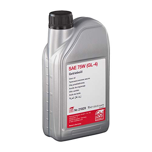 febi bilstein 21829 Getriebeöl SAE 75W (GL-4) , 1 Liter