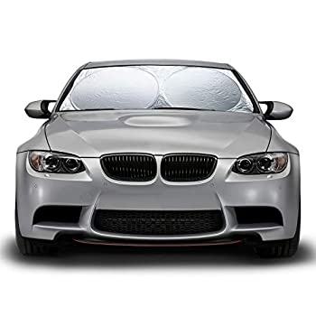 OxGord Auto Car Sunshade Foldable