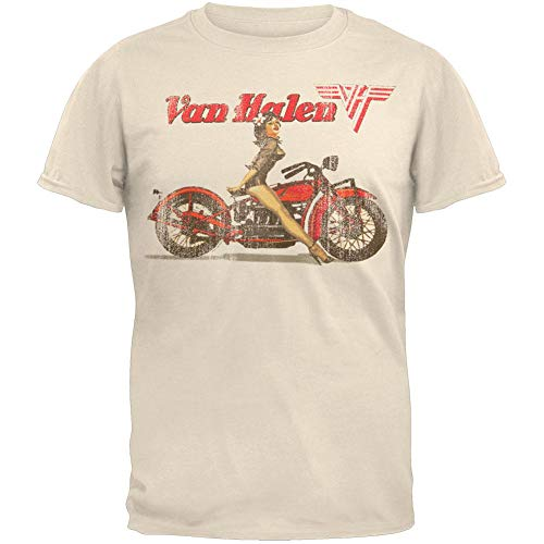 Men's Van Halen Biker Pin-Up Girl T-shirt, Small