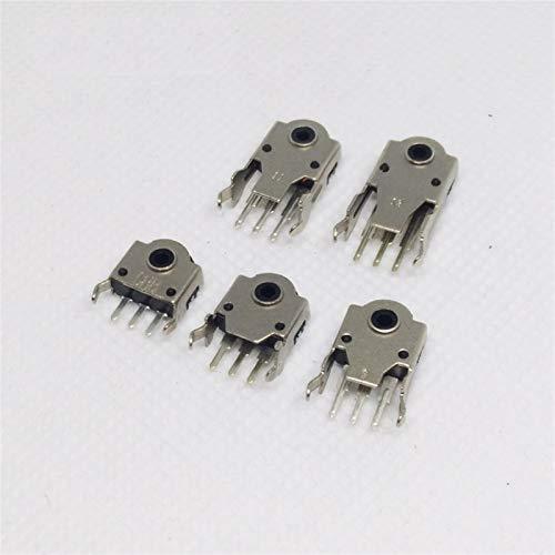 JSJJATQ Interruptores 10 unids 5 mm 7 mm 9 mm 11 mm 13 mm codificador de ratón 11 mm decodificador de la Rueda del Mouse Conector H-5MM H-7 H-9 H-11 H-13 mm Rodillo de reparación Caliente