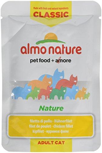 almo nature Hfc Naturale Gatto della–Filetto di Pollo (Confezione da 24X55G)