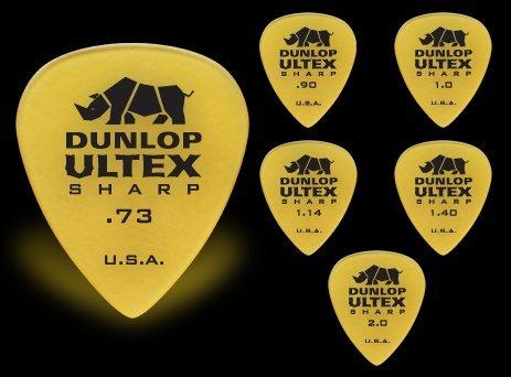 JIM DUNLOP 433R ULTEX SHARP 2.00 ピック×12枚セット