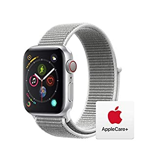 AppleWatch Series4 (GPS+Cellular, 40mm) - Silver Aluminum Case with Seashell Sport Loop with AppleCare+ Bundle (B07RJ1GSPD)   Amazon price tracker / tracking, Amazon price history charts, Amazon price watches, Amazon price drop alerts